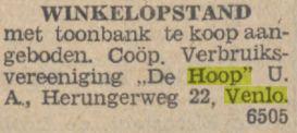 Bron: Limburger koerier 29-03-1932
