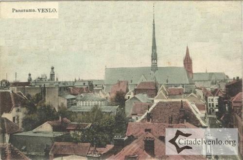 Panorama van de klaaskerk