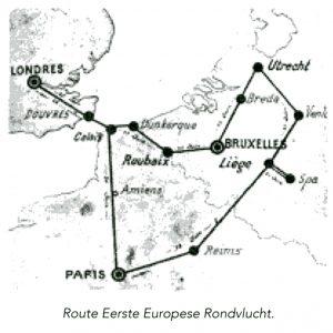Kaartje Europese Rondvlucht